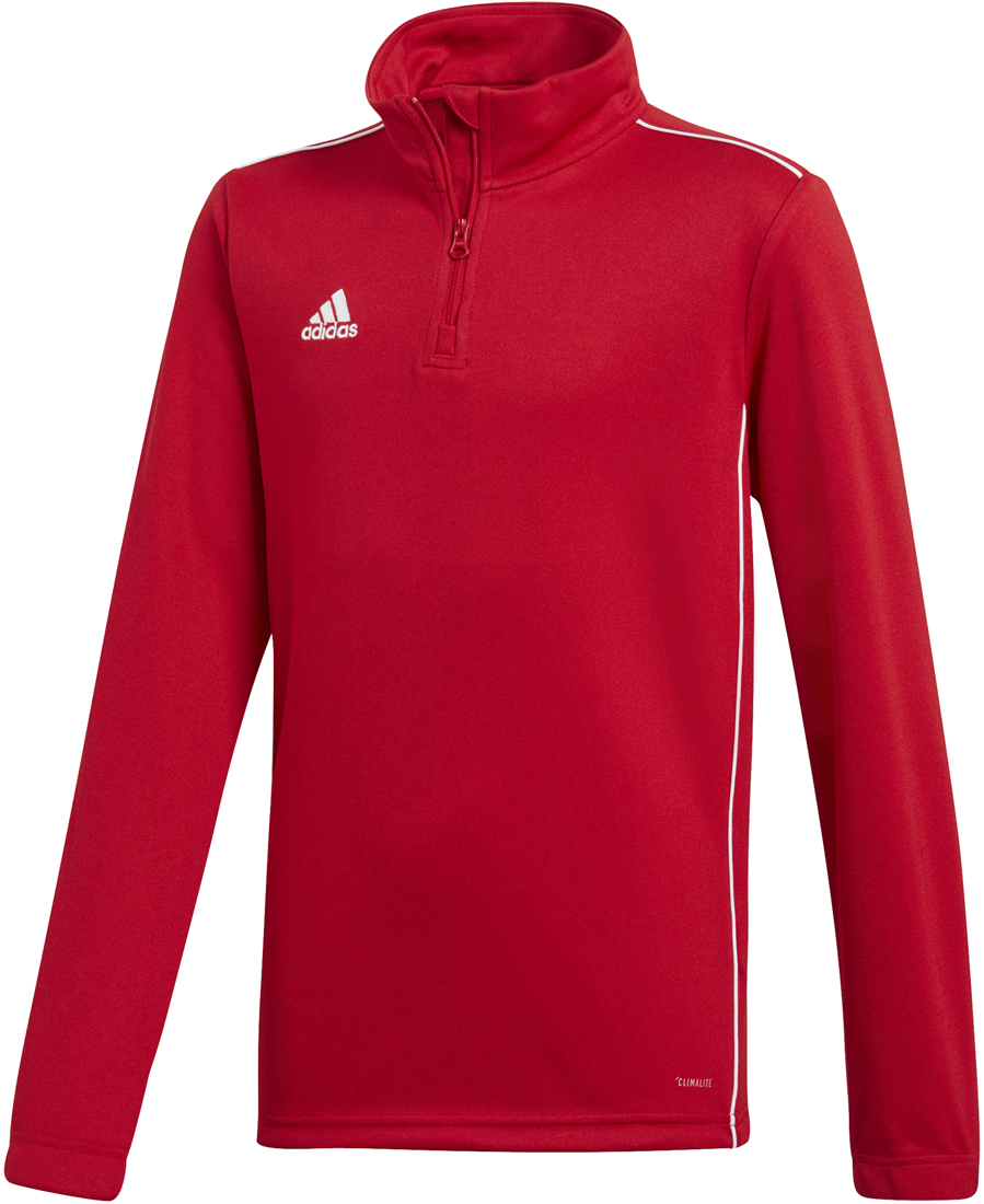 Adidas Core 18 Kinder Training Top power red-weiß   Sportbedarf Shop f4c877176d