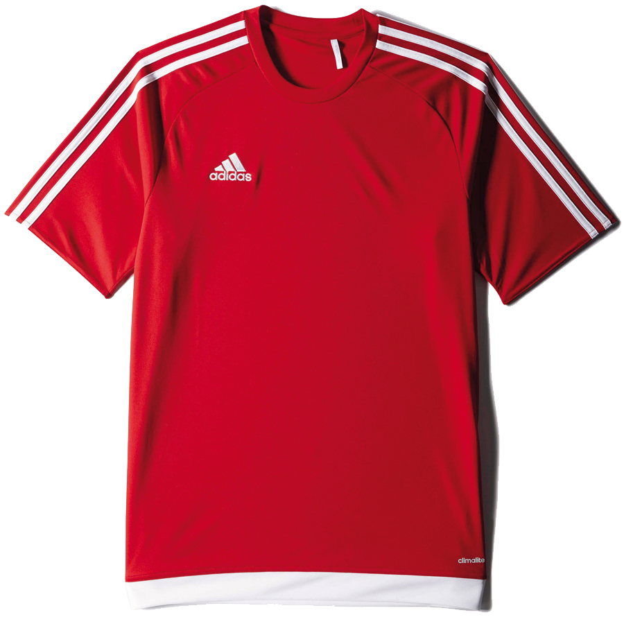 Adidas Estro 15 Trikot power red weiß