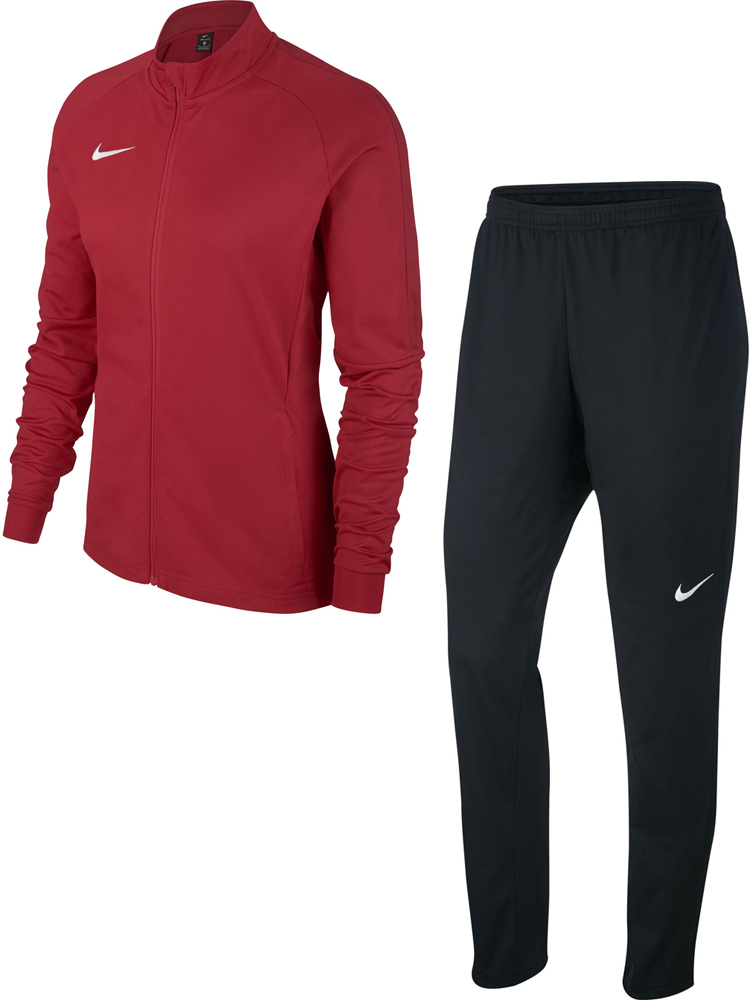 Nike Academy 18 Damen Trainingsanzug university red weiß