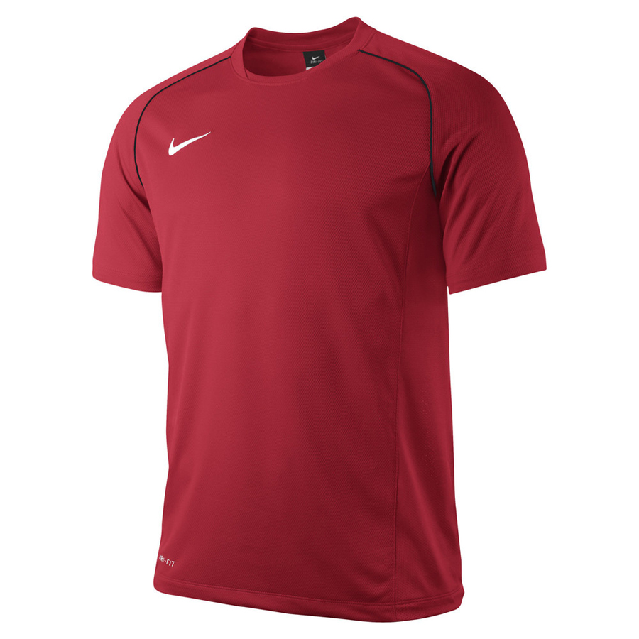 outlet store b9e22 1b4ee Nike Kinder Found 12 Training Kurzarm Top univ.red-schwarz ...
