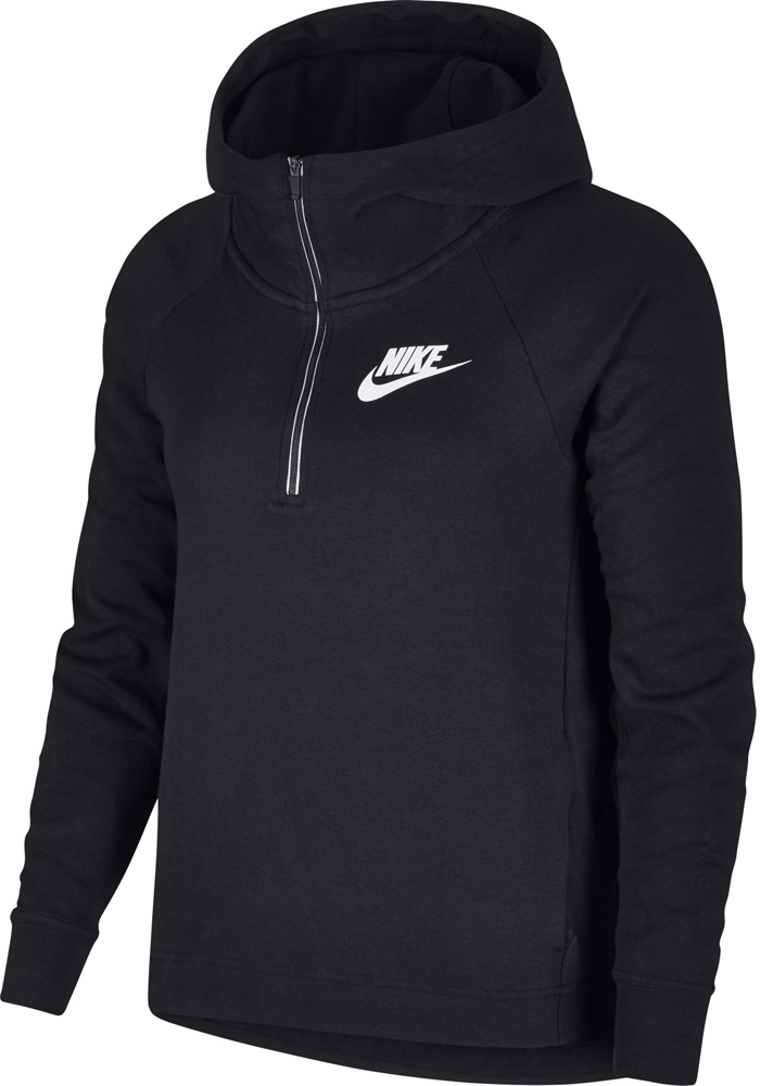 new products fc2d7 01219 Nike Sportswear Advance 15 Damen Hoodie schwarz-weiß