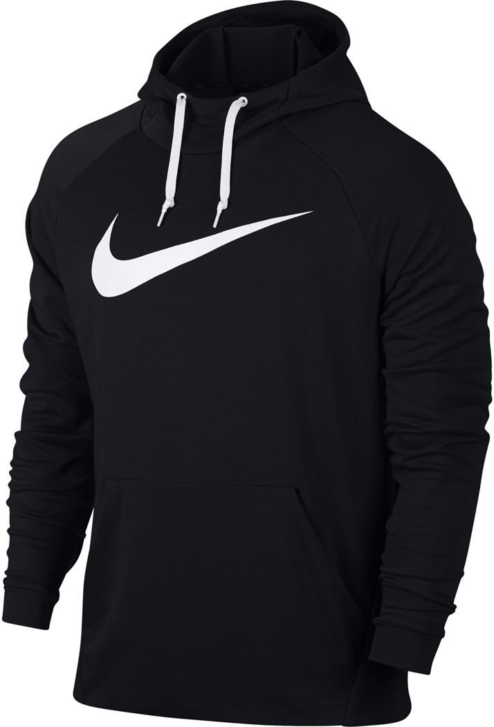 nike dry training herren hoodie schwarz wei sportbedarf. Black Bedroom Furniture Sets. Home Design Ideas