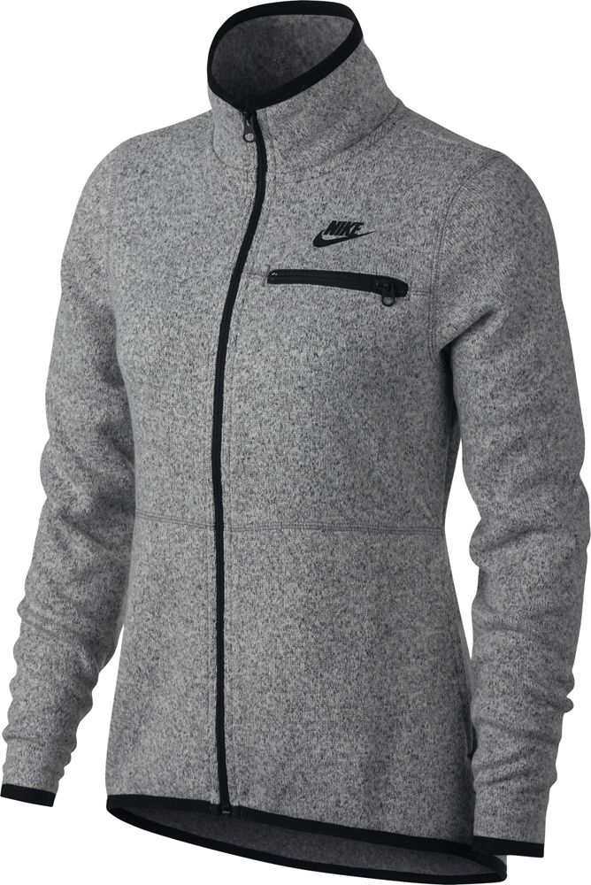 Nike Sportswear Damen Jacke dark grey heather schwarz