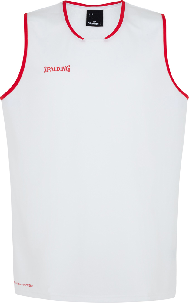 6958bc2bbbe7 Spalding Move Tank Top weiß-rot   Sportbedarf Shop