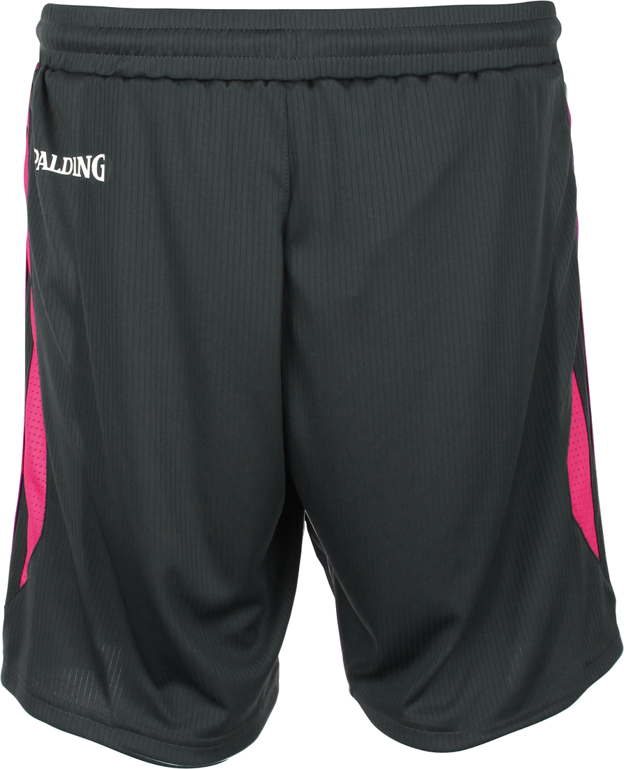 7a889c4949eb Spalding 4her III Damen Shorts anthrazit-pink   Sportbedarf Shop