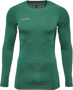 Hummel First Performance Langarm Funktions Jersey evergreen