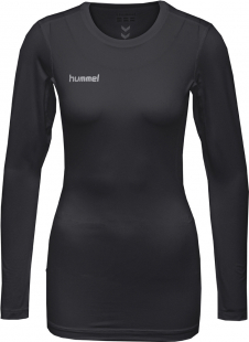 Hummel First Performance Damen LA Funktions Jersey schwarz