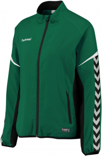 Hummel Authentic Charge Damen Micro Zip Jacke evergreen