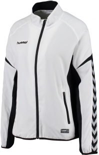 Hummel Authentic Charge Damen Micro Zip Jacke weiß