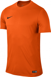 Nike Park VI Kinder Kurzarm Trikot safety orange-schwarz