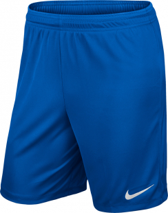 Nike Park II Kinder Knit Shorts o.Innenslip royal blue-weiß