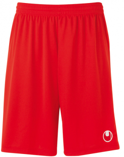 Uhlsport Center Basic II Shorts ohne Innenslip rot