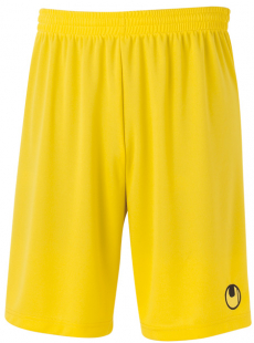 Uhlsport Center Basic II Shorts ohne Innenslip maisgelb
