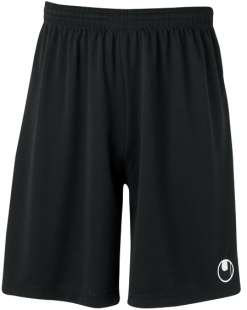 Uhlsport Center Basic II Shorts ohne Innenslip schwarz