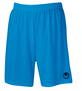 Uhlsport Center Basic II Shorts ohne Innenslip cyan