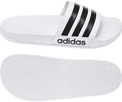 Adidas Shower Cloudfoam Adilette weiß-core black-weiß
