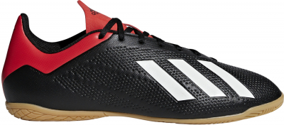 Adidas X 18.4 IN Fußballschuh core black-off white-rot 40 2/3