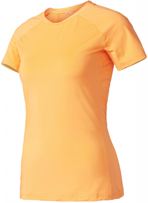 Adidas Speed Damen T-Shirt glow orange