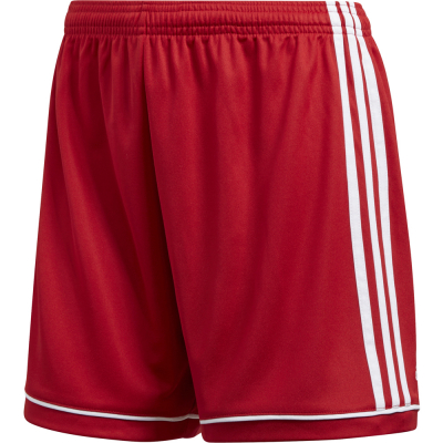 Adidas Squad 17 Damen Shorts power red-weiß L