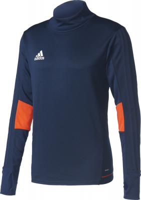 Adidas Tiro 17 Training Top collegiate navy-energy-weiß