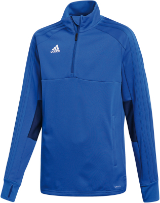 Adidas Condivo 18 Kinder 1/4 Zip Training Top bold blue