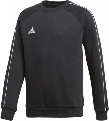 Adidas Core 18 Kinder Sweat Top schwarz-weiß 140