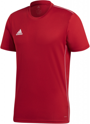 Adidas Core 18 Trikot power red-weiß M