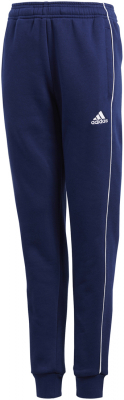 Adidas Core 18 Kinder Sweat Pants dark blue-weiß