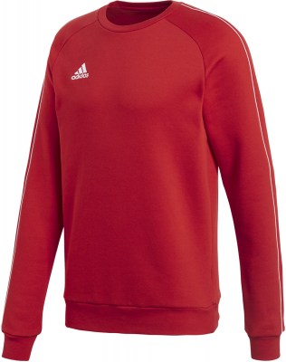 Adidas Core 18 Sweat Top power red-weiß XS