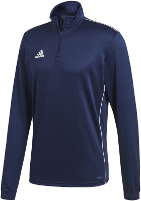 Adidas Core 18 Training Top dark blue-weiß XL