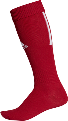 Adidas Santos Sock 18 Stutzen power red-weiß