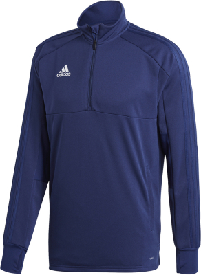 Adidas Condivo 18 1/4 Zip Training Top dark blue-weiß