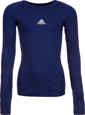 Adidas Alphaskin Kinder Langarm Shirt dark blue