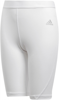 Adidas Alphaskin Kinder Short Tights weiß