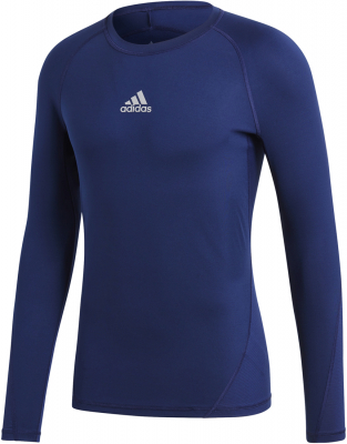 Adidas Alphaskin Langarm Shirt dark blue