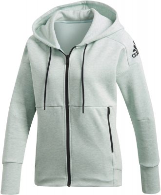 hot sale pre order fast delivery Adidas ID Stadium Damen Full Zip Hoodie clear mint