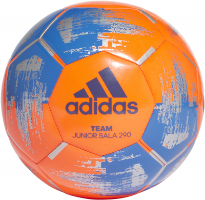 Adidas Team Futsal Ball 290 g solar orange-blau 4