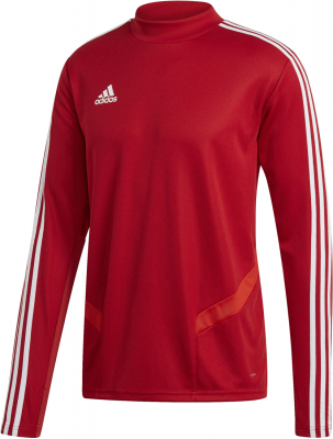 Adidas Tiro 19 Training Top power red-weiß