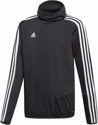 Adidas Tiro 19 Warm Kinder Training Top schwarz-weiß