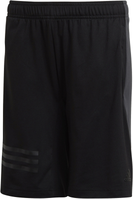 Adidas Training Colour Block 3S Kinder Shorts schwarz-carbon