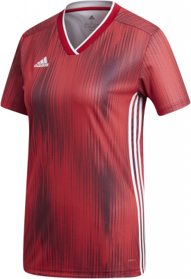 Adidas Tiro 19 Damen Trikot power red-weiß