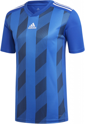 Adidas Striped 19 Trikot bold blue-weiß XL