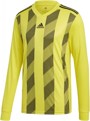 Adidas Striped 19 Langarm Trikot bright yellow-schwarz