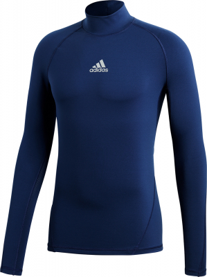 Adidas Alphaskin Langarm Top dark blue