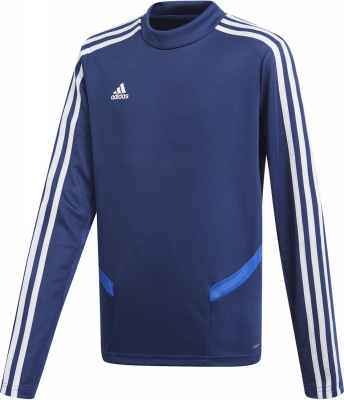 Adidas Tiro 19 Kinder Training Top dark blue-bold blue-weiß 176