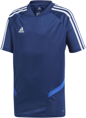 Adidas Tiro 19 Kinder Training Trikot dark blue-bold blue
