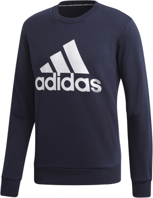 Adidas Must Haves Badge of Sport Herren Crew Sweatshirt blau