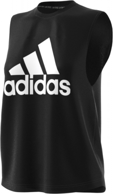 Adidas Badge Of Sports Damen Tank schwarz-weiß