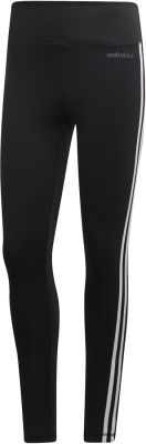 Adidas D2M 3-Stripes High-Rise Damen Tights schwarz