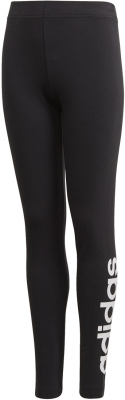 Adidas Essentials Linear Kinder Tights schwarz-weiß